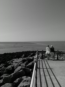 Couple at Morecambe
