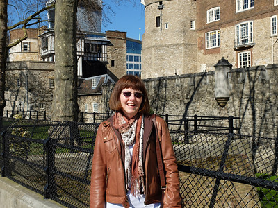 Outside Tower of London