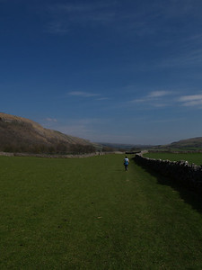 Walking between Arncliffe and Kilnsey on Bank Holiday Monday...very pleasant