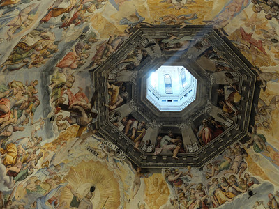 Duomo ceiling, Florence