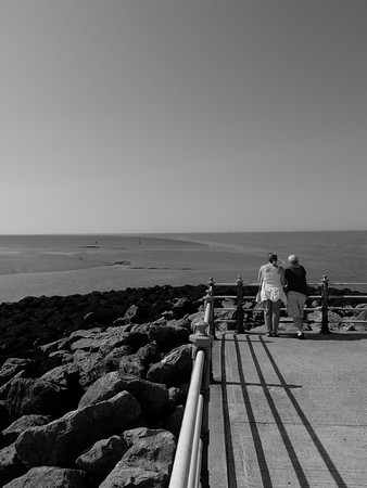 Couple at Morecambe