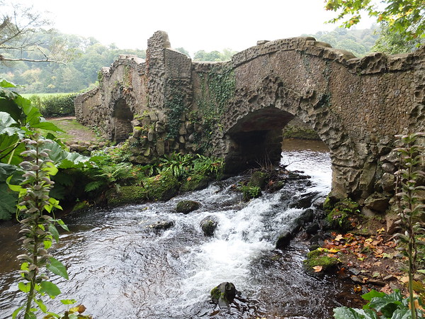 Lovers' Bridge at Dunster Castle